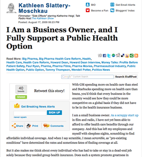 Huff Post Health Care