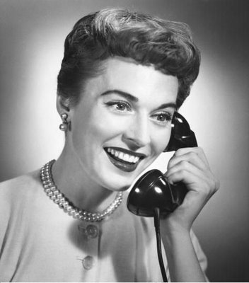 VintageWomanOnPhone